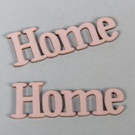 Fa Home felirat antikrózsa 7cm 2db-os