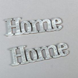 Fa Home felirat koptatott szürke 8cm 2db-os