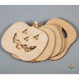 Natúr fa Halloween tök 8cm 5db-os