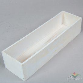 Fa doboz fehér M8x10x35