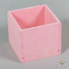 Fa doboz pink M8x9x9cm