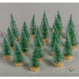 Fenyőfa zöld 6cm 20db-os
