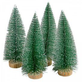 Fenyőfa zöld 20cm 4db-os