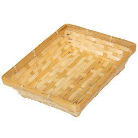 Bambusz tál 25x20cm