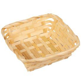Bambusz tál 14x14cm