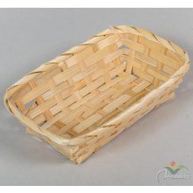 Bambusz tál 13x19cm