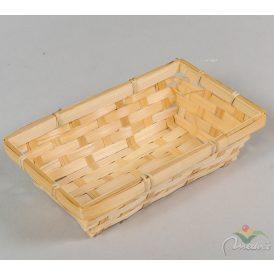 Bambusz tál 12x20cm