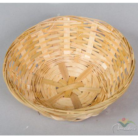 Bambusz tál kerek 17cm