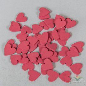 Fa szív piros 2cm 50db-os