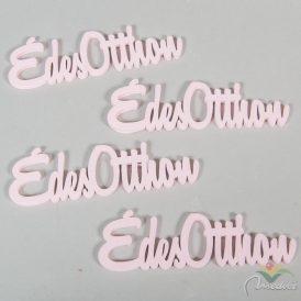 Fa Édes Otthon feliarat pink15cm 4db-os