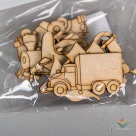 Natúr fa járművek 3-4cm 8db-os