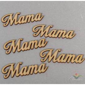 Natúr fa Mama felirat 8cm 5db-os