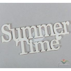 Fa Summer Time felirat fehér 17cm