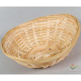 Bambusz ovál tál 22cm