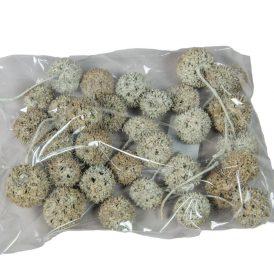 Ámbrafa termés kínai falfestékes halványzöld 14dkg/csom