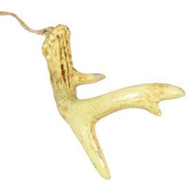 Akasztós agancs poly barna