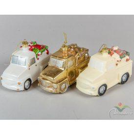 Akasztós műa. teherautó ajándékokkal 12cm