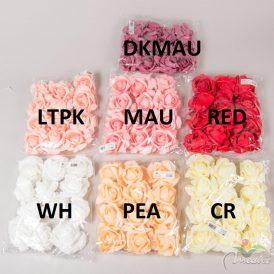 Polifoam rózsafej 12db-os