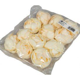 Polifoam boglárla virágfej IV D5,5cm 12db-os (csom ár)