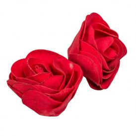 Poifoam virágfej  RED D7cm M5cm 12db-os (csom ár)