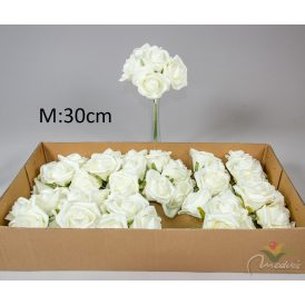 Bimbós rózsa csokor 6v. 12db/karton Egész/fél kartonra rendelhető!