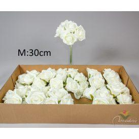 Bimbós rózsa csokor 6v. M30cm 12db/#