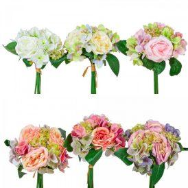 Rózsa, hortenzia köteg 6v. 24db/#