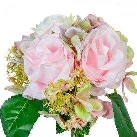 Rózsa, hortenzia köteg 6v. M27cm 24db/#