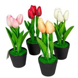 Cserepes tulipán polifoam touch M22cm