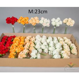 Polifoam rózsa csokor 6v. M23cm 36db/#