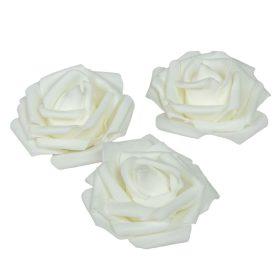 Polifoam gyémántrózsa virágfej CR D7cm 12db-os (csom ár)