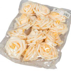 Polifoam gyémántrózsa virágfej LTPH D7cm 12db-os (csom ár)