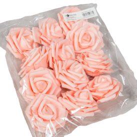 Polifoam gyémántrózsa virágfej LTPK D7cm 12db-os (csom ár)
