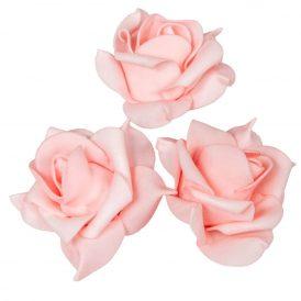 Polifoam rózsafej MAU D6cm M4cm 12db-os (csom ár)