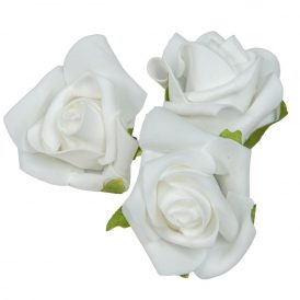 Polifoam rózsafej WH D6cm M5cm 24db-os (csom ár)