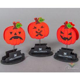 Fa Halloween névjegytartó 10cm (db ár)
