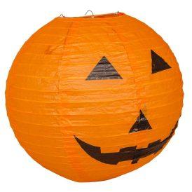 Halloween tökös lampion 35cm
