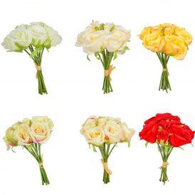Rózsa köteg 9v. M27cm 24db/#