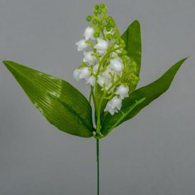 Gyöngyvirág pick levéllel M30cm 120db/#