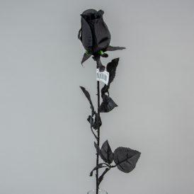 Rózsabimbó szálas fekete M75cm 36db/#