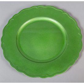 Müanyag tányér hullámos szélű D33cm