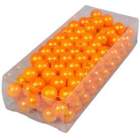 Gyöngy 10mm narancs 85gr