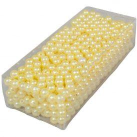 Gyöngy 6mm vanília 85gr