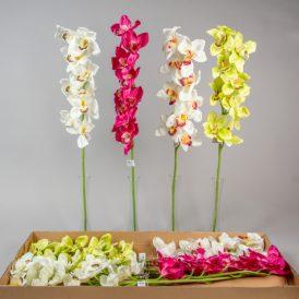 Orchidea ág 9v. M90cm 12db/#