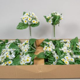 Apróvirágos margaréta csokor 21v. 36db/karton Egész/fél kartonra rendelhető!
