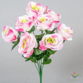 Rózsa csokor 10v. M42cm 12db/#
