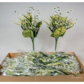 Bogáncs, hagyma virág csokor M57cm 12db/#