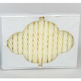 Karfa csavart gyertya krém 30db-os (db ár)