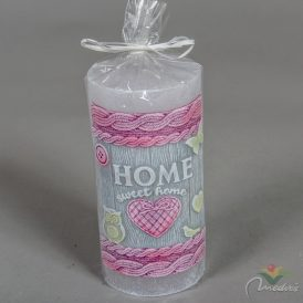 Home sweet home henger gyertya 70x140mm