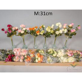 Rózsa csokor 10v. M31cm 36db/#